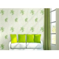 China Lily Printing 0.53*10M Custom Country Style Wallpaper With Embossed Surface Treatment wholesale