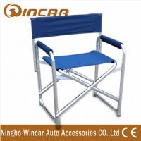 China vehicle Outdoor Camping Chairs , 600D folding chair for Lawn / Fishing / beach wholesale