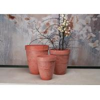 China Round Fashionable Indoor Decorative Planters Plain Recycled Patented SPW Material wholesale