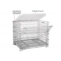 China Multi Function Mesh Storage Cage Metal Cage Bins Strong Reinforced Design wholesale
