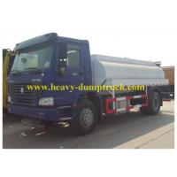 China SINOTRUK HOWO Chassis Oil Tank Truck With 16000L 25m3 Tank Volume Capacity wholesale