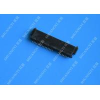China Lightweight Through Hole SAS To SATA Connector Rectangular 6 Gbps 22 Position wholesale