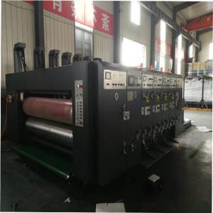 China Factory Price Cardboard 4 Colors Flexo Ink Printing Slotting Die-cutter Machine on sale