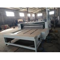 China 2 Colors Print And Die Cut Production Line For Corrugated Boxes Printing wholesale