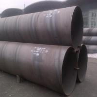 China Spiral Welded Carbon Steel SAW Steel Pipe ASTM A53 Grade B Plain Ends 26'' Sch30 wholesale