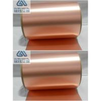 Extraordinary Strength, Bendability Ra Copper Foil for sale