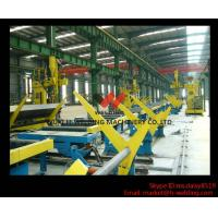 China SAW Motorized Moving H Beam Welding Machine With Single Welding Arm 200 - 800mm Flange wholesale