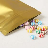 China Reusable Aluminium Foil Stand Up Coffee Packaging Bags Tea Cookie Packing Bag With Zip Lock wholesale
