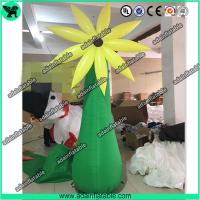 China 3m Event Party Decoration Inflatable Stand Flower/Inflatable Flower Tree wholesale