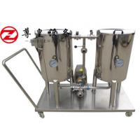 China Custom 50L 2KW CIP Brewing Equipment PID / PLC Control 2mm Tank Thickness on sale