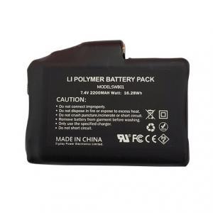China 15Wh 2000mAh 2S 7.4V Li Polymer Battery Pack wholesale