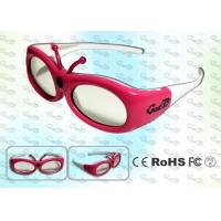 China Red Kids Samsung 3D TV Active Shutter 3D glasses wholesale