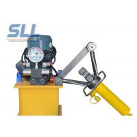 China Portable Manual Hydraulic Steel Bending Machine / Concrete Spraying Equipment wholesale