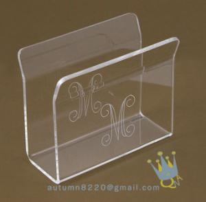 China acrylic napkin stand wholesale