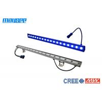 China Anodized Aluminum Dimmable LED Wall Washer Lighting with 18 watt Cree Chip / 24VDC wholesale