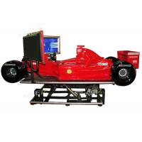 China F1 Ferrari Game Machine Virtual Car Racing Simulator Electric System 360 Degree wholesale