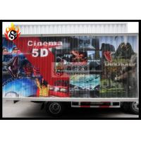 China Removable Mobile 5d Cinema with Hydraulic System in Truck wholesale