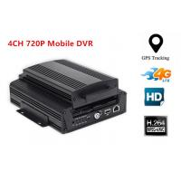 China 4CH AHD 720P Hard Disk 3G Mobile DVR WIFI Car Dvr Recorder With G-sensor GPS wholesale