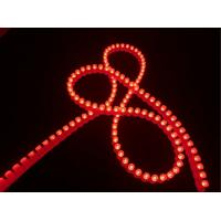 China Red Color Wall LED Strip Lights For Entertainment Club / Hotel / Car Decorative on sale