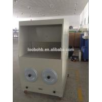 portable grinding and polishing dust removal downdraft table with self cleaning system