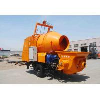 China JBT30 concrete pump with mixer with 450L mixing drum and 30m3/hr pumping capacity on hot selling wholesale
