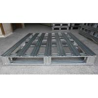 Buy cheap Heavy Duty Metal steel spill pallets , stackable steel pallets 2 Way  Entry from wholesalers
