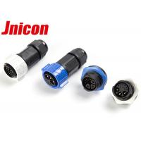 China Panel Mount Electrical Round Multi Pin Connectors 3 Pin Power And 9 Pin Signal wholesale