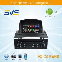 China Android car dvd player GPS navigation for Renault Megane 2 II with A9 chipset quad core wholesale