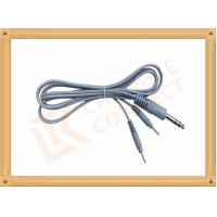 China 6.35 TO 2.0 Tens Unit Cables  2 Pin Y Type Medial Tens EMS Cable Lead Wire wholesale