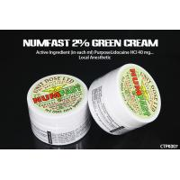 China Stop Pain Numfast 2% Green Tattoo Numb Cream Semi Permanent wholesale