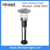 Buy cheap Stainless Steel H80cm 12LED 2W Frosted Coating Solar Bollard Lights Residential Quarters Plaza Outdoor Terrace Lights from wholesalers