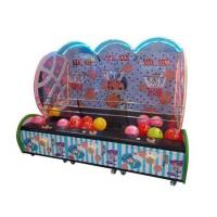 China Indoor Coin Operated Kids Street Basketball Game Machine with three player wholesale