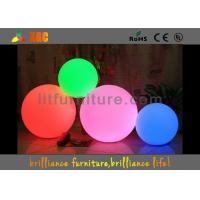 China Waterproof LED Balls , Change 16 Colors LED Lighting Furniture wholesale