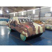 China PVC Tarpaulin Inflatable Sports Games Inflatable Humvee for Outdoor Paintball Field on sale