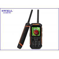 China SWELL Rugged Waterproof Smartphone With Gps Tracker Walkie Talkie X6 wholesale