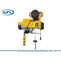 Buy cheap 200kg PA Type Small Electric Hoist Wire Rope Sling With Remote Control from wholesalers