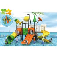 China High Speed Tube Commercial Water Slide Landscape Design With Hair Collector on sale