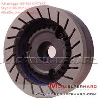 China Glass resin grinding wheel is used in straight edge machine and chamfering machine Alisa@moresuperhard.com on sale