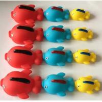 China Rubber Natural Rubber Baby Toys ,Sea Creature Bath Toys With Magnetic Connectors wholesale