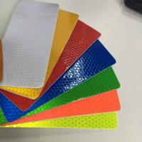 3 years reflective honeycomb pvc flex banner for outdoor,reflective stickers