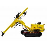 China Crawler Hydraulic DTH Rock Blasting Wagon Drill Machine , Borehole Drilling Equipment wholesale