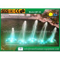 China Square Shape Musical Water Fountain Multiple Nozzles Single Conversion 4400W wholesale