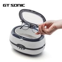 China Portable Ultrasonic Vibration Cleaner With LED Display / Auto Open Cover on sale