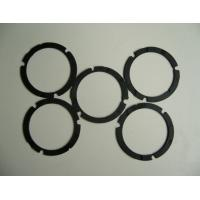 China Die Cutting Solution Silicone Rubber Gasket , Black Custom Silicone Gaskets Strip Washer wholesale