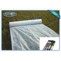 China 100% Virgin Polypropylene Garden Weed Control Fabric For Agriculture Covering wholesale