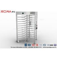 China High Security Full High Turnstile Stainless Steel Access Control For Prisons Turnstile wholesale