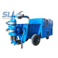 Quality 4kw Construction Machine Cement Mortar Pump For Sand / Cement / Mortar for sale