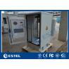 Buy cheap 27U 19 Inch Rack Outdoor Telecom Cabinet Galvanized Steel Single Wall Heat from wholesalers