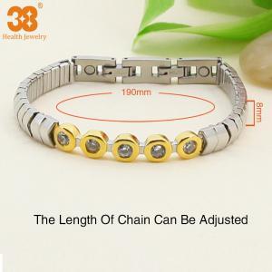 China Wholesale fashion design stainless steel bracelet jewelry handmade wholesale