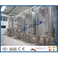 China PLC UHT Milk Processing Line For High Temperature Pasteurized Soy Milk / Organic Milk / Milk Products on sale